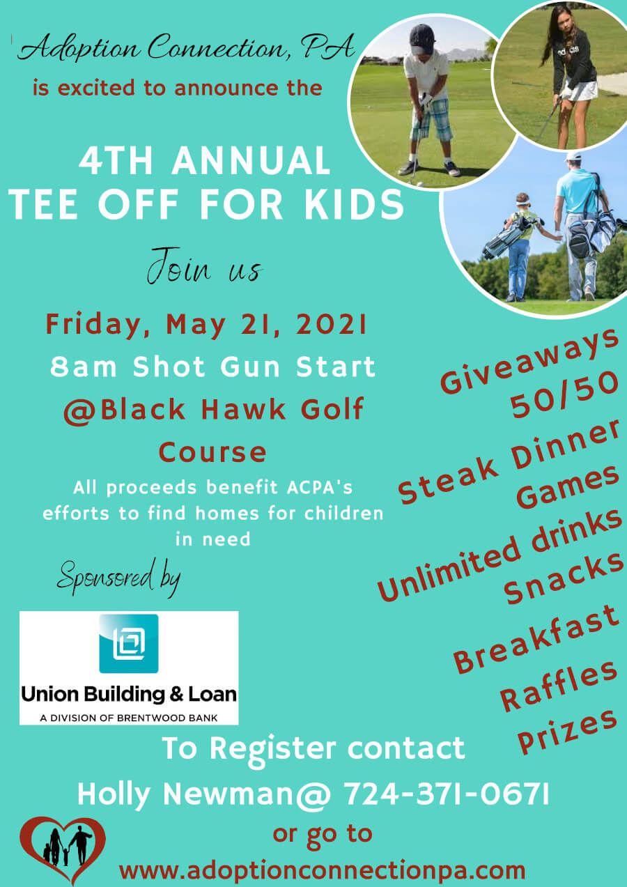 4th Annual tee off for kids flyer 2